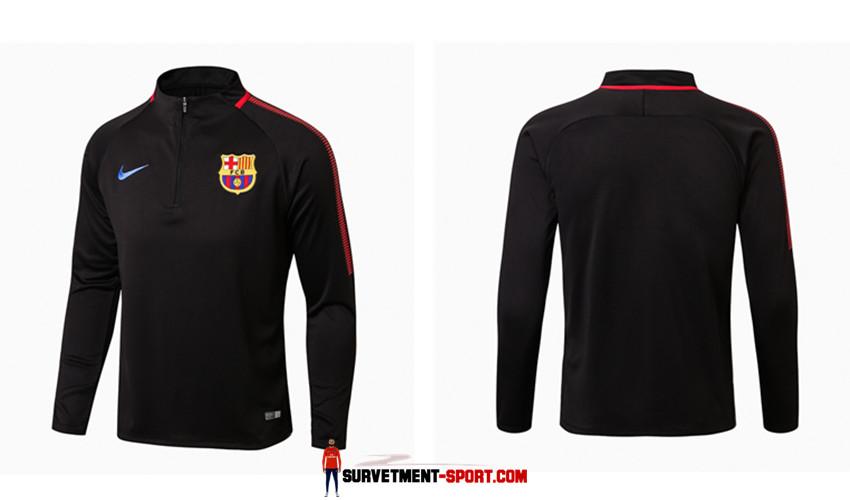 Nouveau Nike Survêtement FC Barcelone 2017 Noir