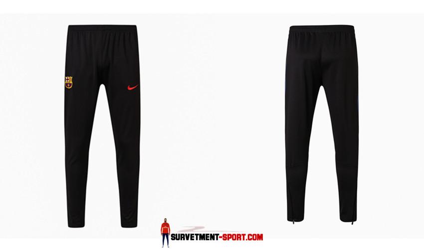 Nike Pantalon de Foot Survetement Barcelone Noir 2017 2018