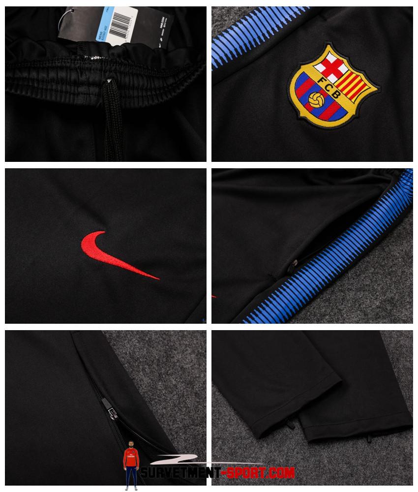 Nike Pantalon Barcelone Noir 2017 2018