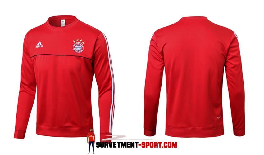 Adidas Survetement de Foot Bayern Munich Rouge Homme 2017/2018