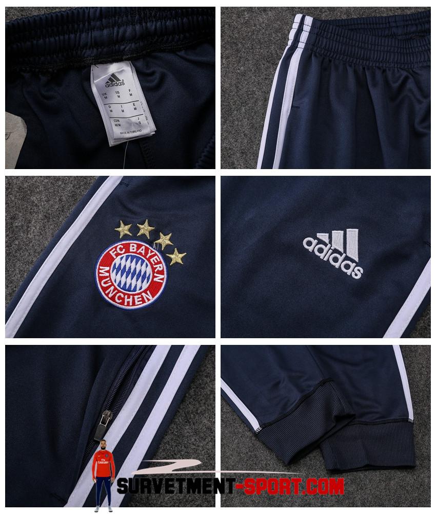 Adidas Pantalon Bayern Munich Bleu Marine 2017 2018
