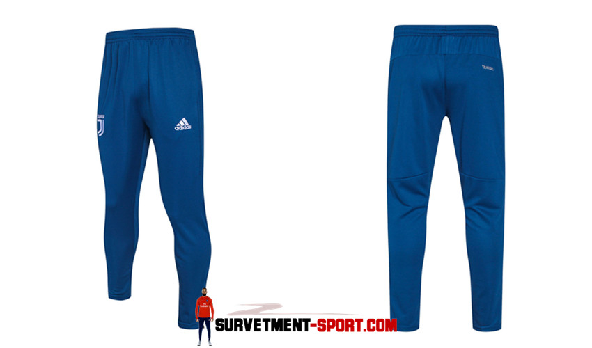 Adidas Pantalon de Foot Survetement Juventus Bleu 2017 2018