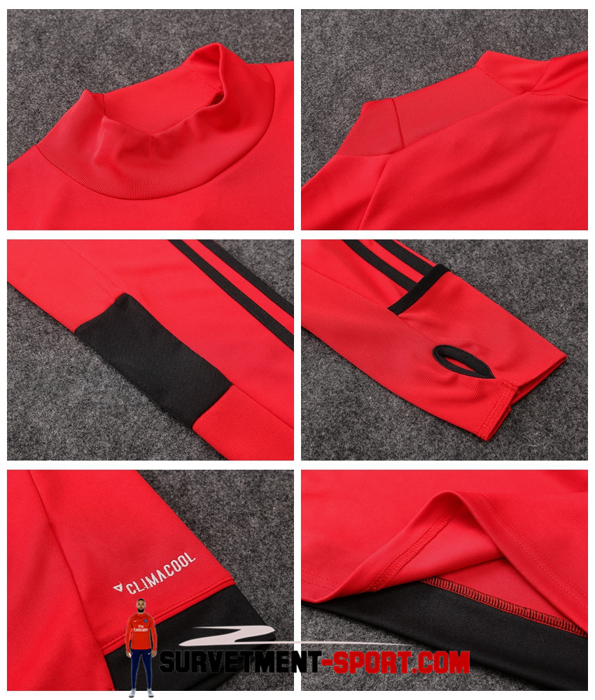 Nouveau Adidas Survêtement Milan AC 2017 Rouge