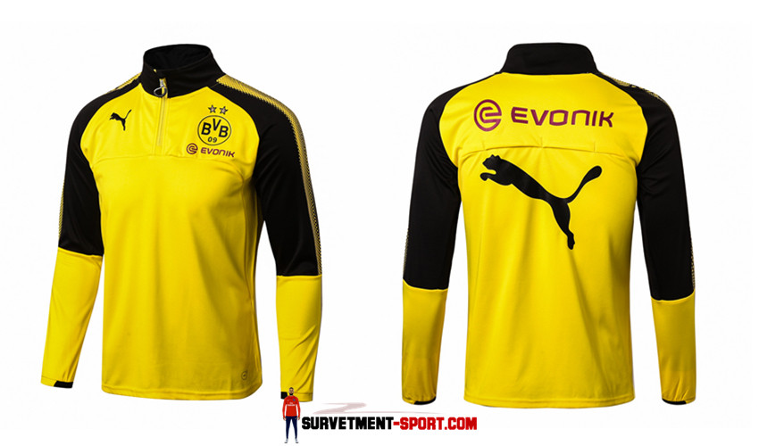 Puma Survetement de Foot Dortmund Jaune Homme 2017/2018
