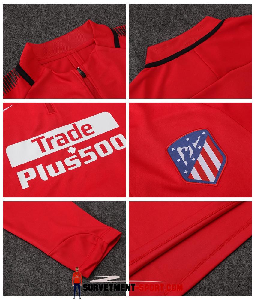 Nouveau Nike Survêtement Atletico Madrid 2017 Rouge