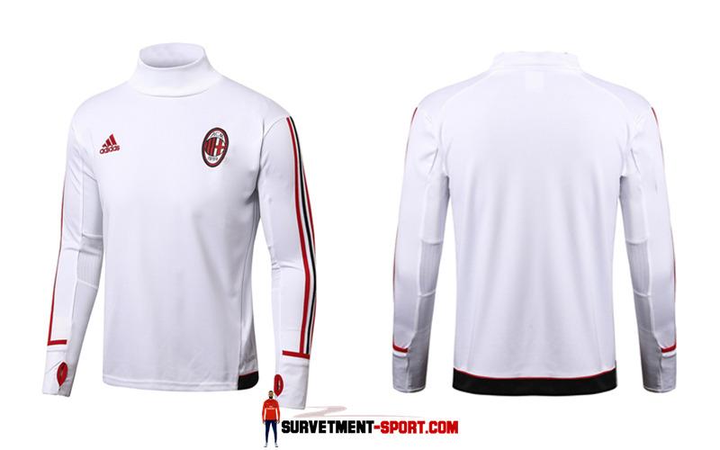 Nike Survetement de Foot Milan AC Blanc Homme 2017/2018