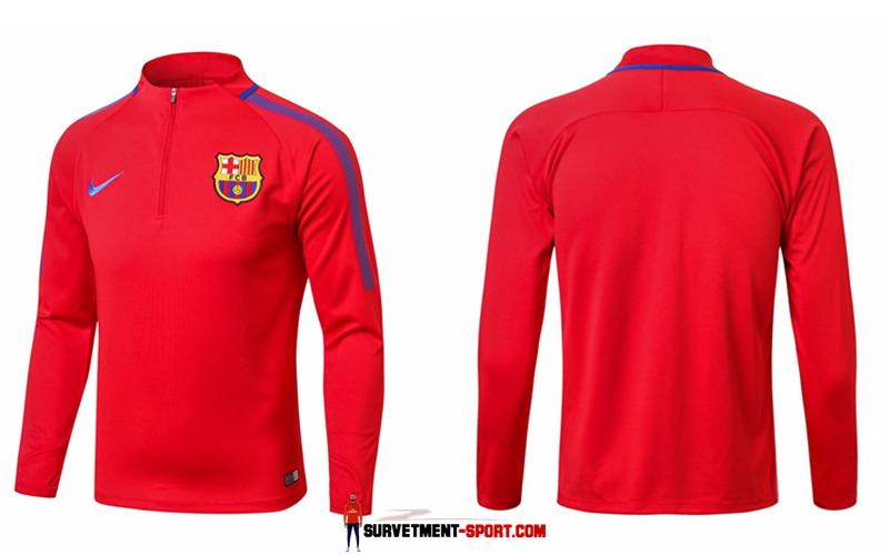 Nike Survêtement de Foot Barcelone Rouge 2017 18