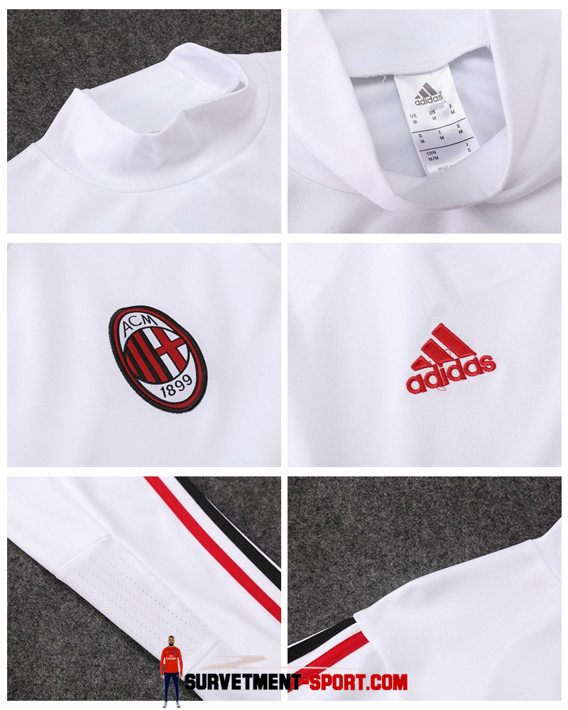 Nouveau Nike Survêtement Milan AC 2017 Blanc