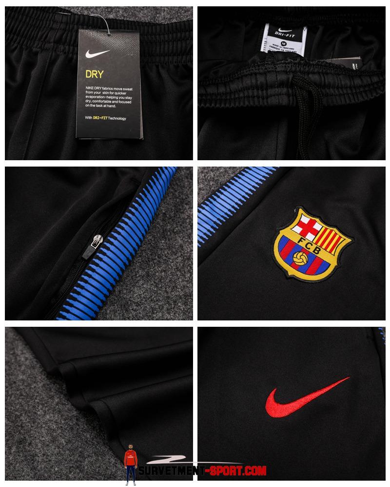 Nike Pantalon FC Barcelone Noir 2017 2018