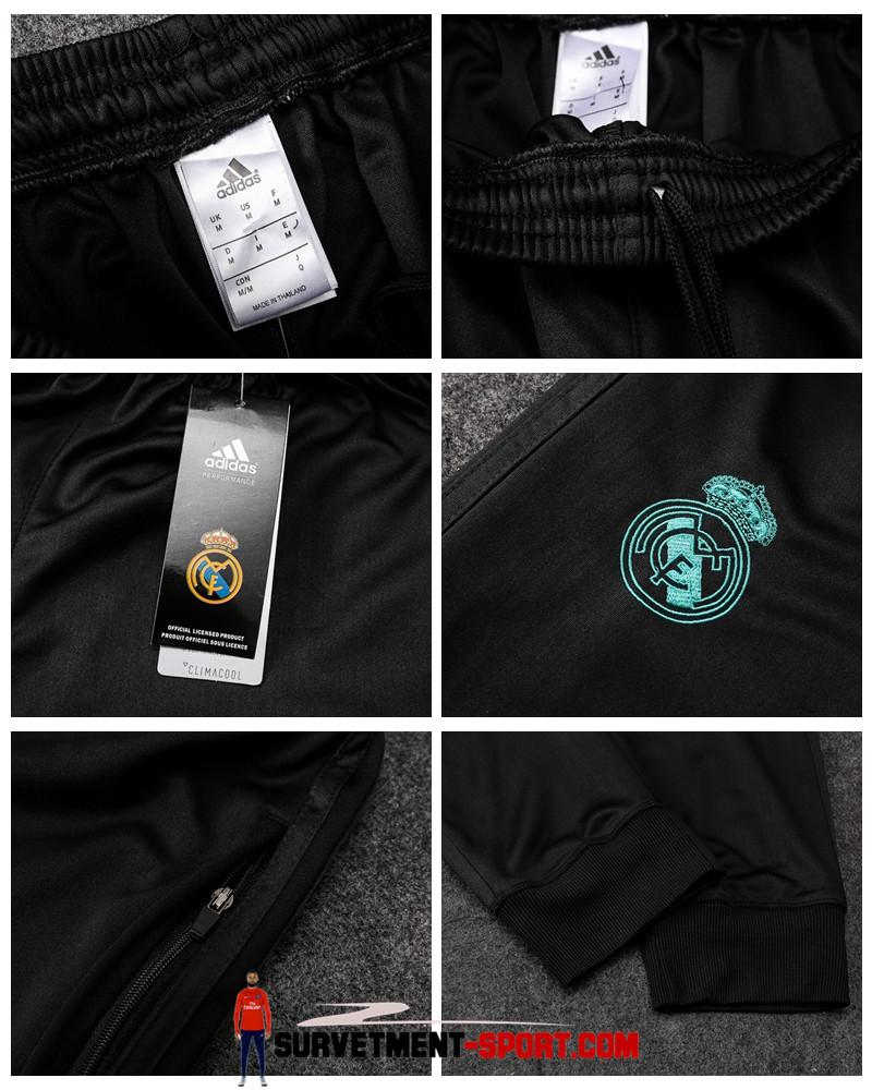 Adidas Pantalon Real Madrid Noir 2017 2018