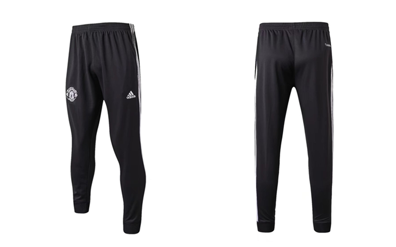 Adidas Pantalon de Foot Survetement Man Utd Gris fonce 2017 2018