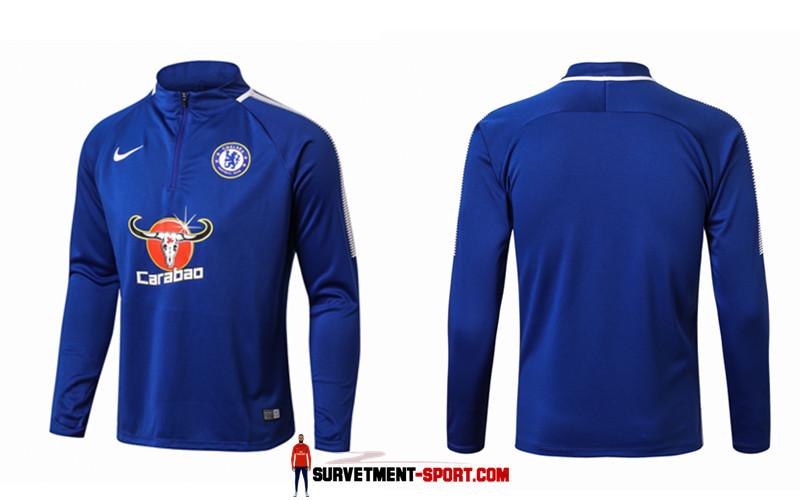 Nike Survetement de Foot Fc Chelsea Bleu Homme 2017/2018